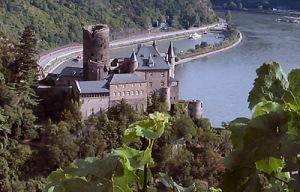 Castle Katz, The Rhine Photo from: Wikipedia, Creative Commons